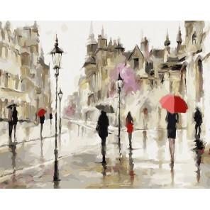 Царство дождя Раскраска картина по номерам акриловыми красками на холсте