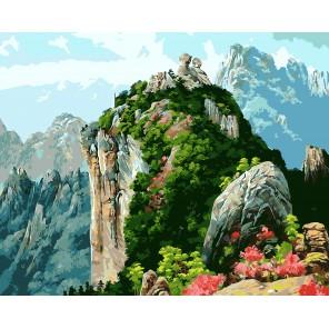 Гранитная долина Раскраска картина по номерам акриловыми красками на холсте