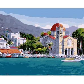 Греция (художник Пантелис Зографос) Раскраска картина по номерам акриловыми красками на холсте