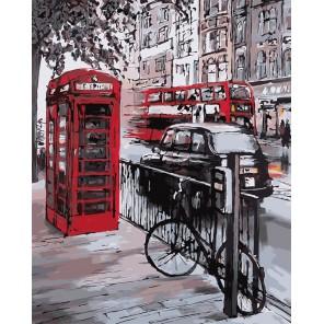Улицы Лондона Раскраска картина по номерам акриловыми красками на холсте