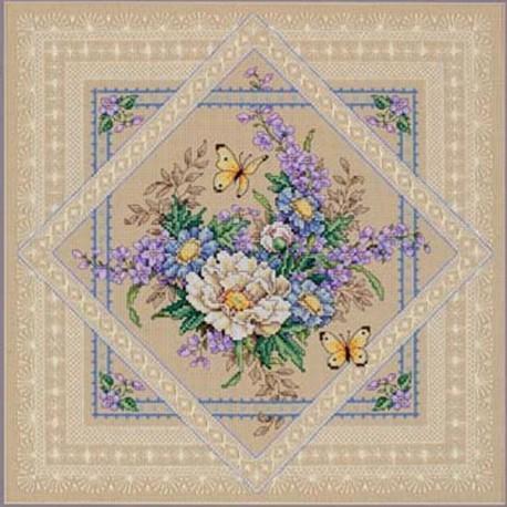 Растения и кружева 35105 Набор для вышивания Dimensions ( Дименшенс )