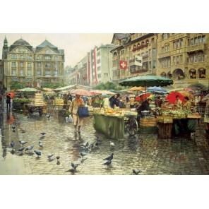 Рынок в Базеле Пазлы Educa