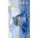 Животные Дельфины 543 Рисовая декупажная карта Ferrario