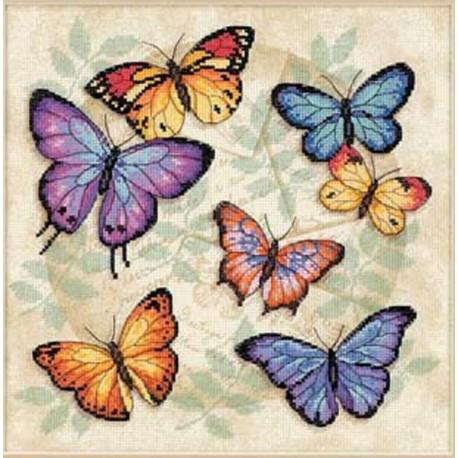 Бабочки 35145 Набор для вышивания Dimensions ( Дименшенс )