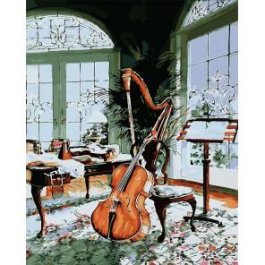 Музыкальный вечер Раскраска картина по номерам акриловыми красками на холсте