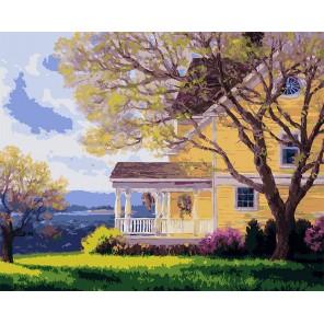 Особняк Раскраска картина по номерам акриловыми красками на холсте