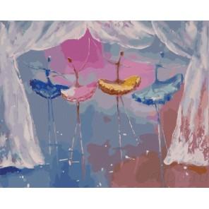Маленькие балерины Раскраска картина по номерам акриловыми красками на холсте