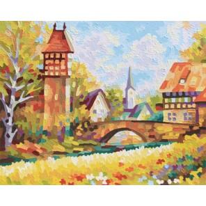 Загородная идиллия Раскраска по номерам акриловыми красками Schipper (Германия)