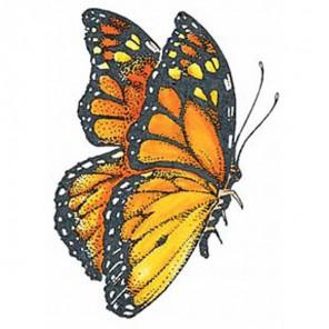 Бабочка Монарх Штамп для скрапбукинга, кардмейкинга Plaid