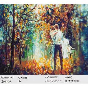 Прозрачность чувств (художник Леонид Афремов) Раскраска картина по номерам акриловыми красками на холсте