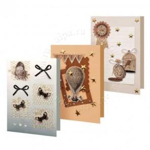 Вояж Набор для создания 3-х  открыток своими руками Белоснежка