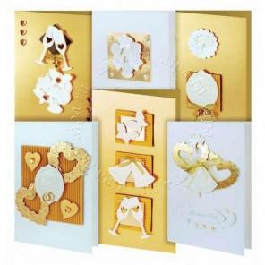 Любовь Набор для создания  6-ти  открыток своими руками Белоснежка