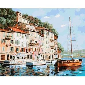 Манящая Италия Гвидо Борелли Раскраска картина по номерам акриловыми красками на холсте Menglei