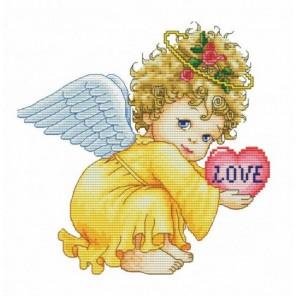 Маленький ангел Набор для вышивания Белоснежка