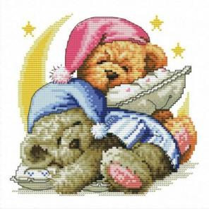 Два медвежонка Набор для вышивания Белоснежка