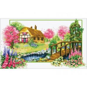 Деревенский мостик Набор для вышивания Белоснежка