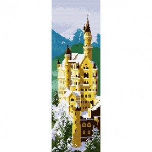 Замок Нойшванштайн Набор для вышивания Белоснежка