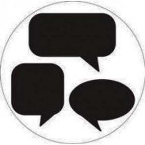 Силуэт Речь Фигурный дырокол для скрапбукинга, кардмейкинга Martha Stewart Марта Стюарт