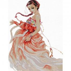 Очаровательная танцовщица Набор для вышивания Белоснежка