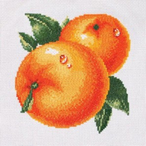 Набор для вышивки Сочные апельсины Набор для вышивания Белоснежка
