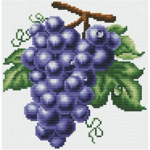 Гроздь винограда Набор для вышивания Белоснежка
