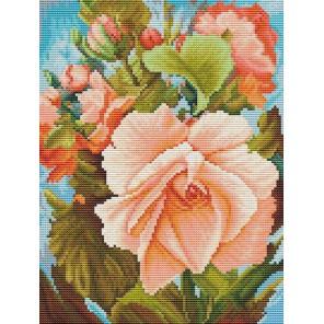 Роза Набор для вышивания Белоснежка