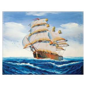 Попутный ветер Набор для вышивания Белоснежка