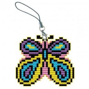 Бабочка Брелок Набор для вышивания Белоснежка