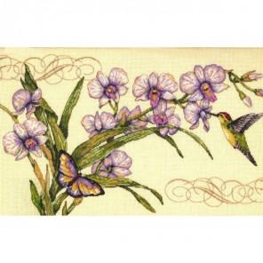 Орхидеи и колибри 35237 Набор для вышивания Dimensions ( Дименшенс )