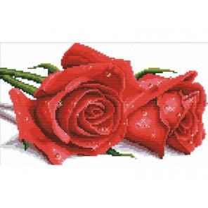 Красные розы Набор для вышивания Белоснежка