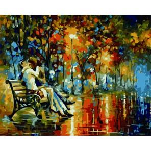 Влюбленные Раскраска картина по номерам акриловыми красками на холсте