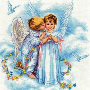 Ангельский поцелуй 35134 Набор для вышивания Dimensions ( Дименшенс )