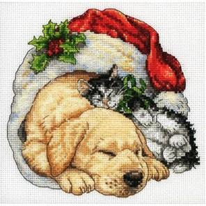 Рождественское утро 08826 Набор для вышивания Dimensions ( Дименшенс )