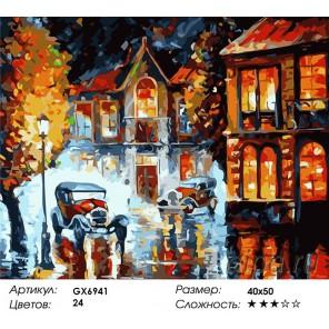 Летняя романтика Раскраска картина по номерам акриловыми красками на холсте