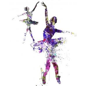 Красочный балет Раскраска картина по номерам акриловыми красками на холсте Menglei
