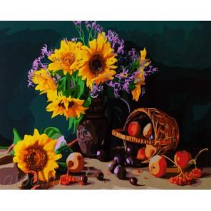 Количество цветов и сложность Вкус осени Раскраска картина по номерам акриловыми красками на холсте