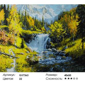 Количество цветов и сложность Красота природы Раскраска картина по номерам акриловыми красками на холсте