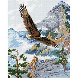 Полет орла Алмазная мозаика вышивка на подрамнике Molly