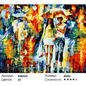 Количество цветов и сложность Подружки Раскраска картина по номерам акриловыми красками на холсте