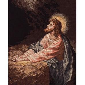 Молитва Христа 45473 Набор для вышивания счетный крест Bucilla