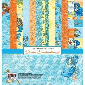 Сказки Моря 8 листов Набор бумаги  для скрапбукинга, кардмейкинга ScrapBerrys