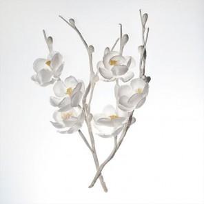 Цветы вишни белые  Украшение для скрапбукинга, кардмейкинга Scrapberry's