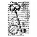 Ключ Штамп на резиновой основе для скрапбукинга, кардмейкинга Stamperia
