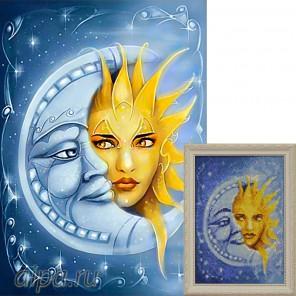 Магия светил Алмазная вышивка мозаика Гранни
