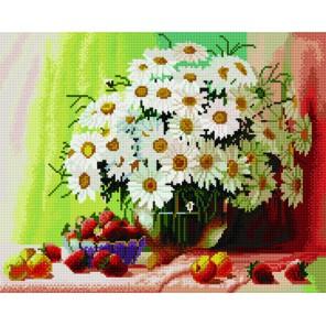 Садовые ромашки Алмазная мозаика вышивка на подрамнике Molly