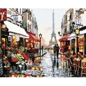 Париж Алмазная мозаика вышивка на подрамнике Molly