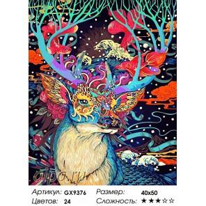 Количество цветов и сложность Золотая маска Раскраска картина по номерам акриловыми красками на холсте