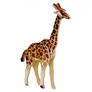 Жираф 3D Пазлы Деревянные Robotime