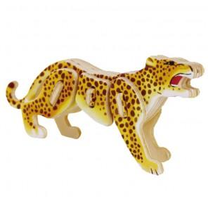Леопард 3D Пазлы Деревянные Robotime