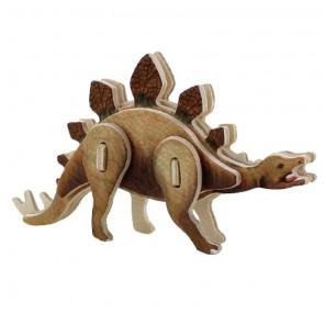 Стегозавр 3D Пазлы Деревянные Robotime